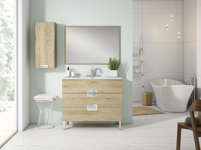 Mueble de baño nebraska natural ÓPERA