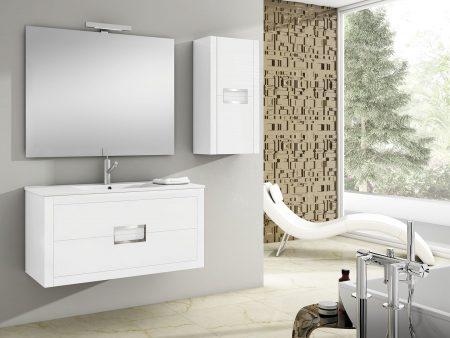 Mueble de baño ONIX blanco brillo