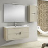 Mueble de baño ONIX champán brillo