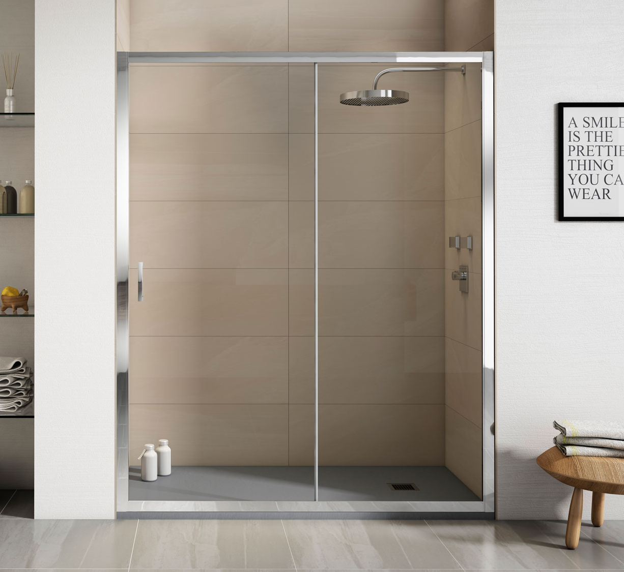 Mampara de ducha Transparente