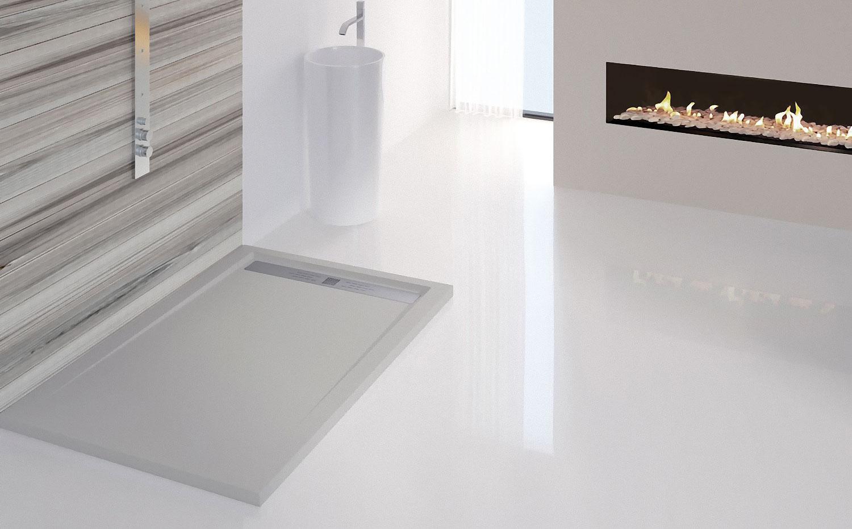 Plato de ducha piedra natural