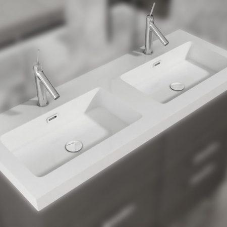 Lavabo resina 2 senos MODELO MIX