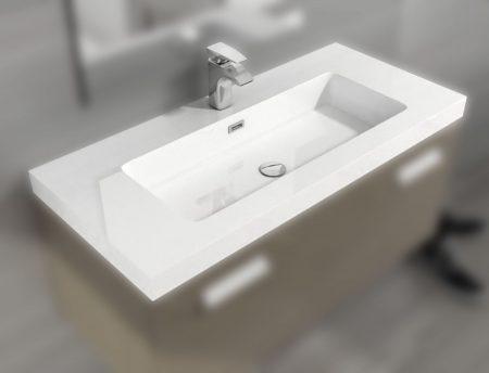 Lavabo resina MODELO MIX 1 seno