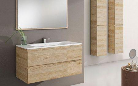 Espejo enmarcado de madera FLORENCIA