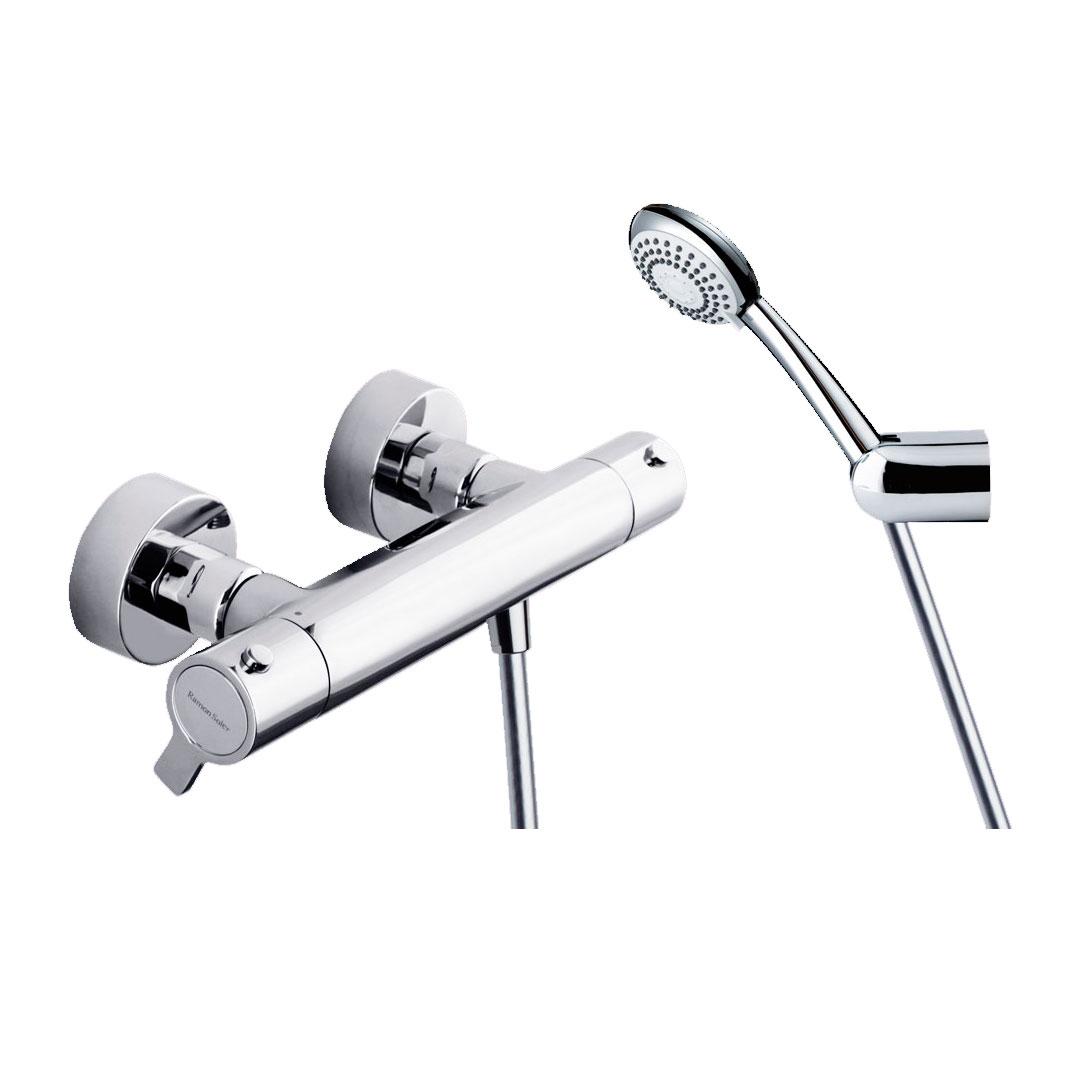 Grifo de ducha termostático modelo Blautherm Ramón Soler