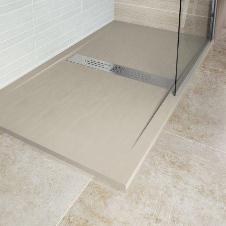 Plato de ducha resina EBANO